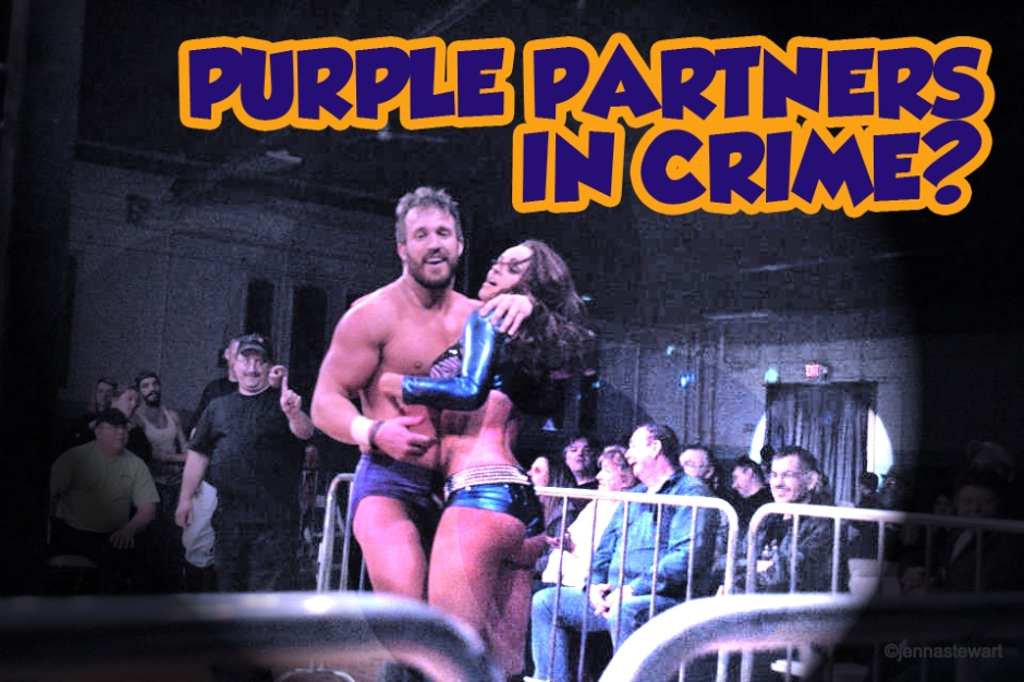 Purple Partners in Crime?